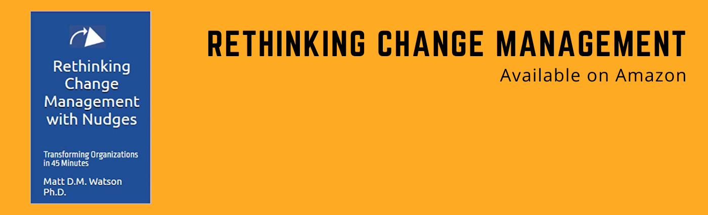Rethinking Change Management Preface